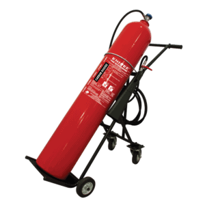Trolley Type Carbon Dioxide Fire Extinguisher