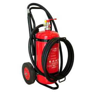 25 kg Trolley Type Dry Powder Fire Extinguisher